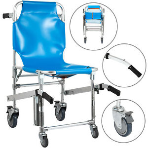 Medizinischer Rollstuhl Treppenlift Blau Rutschfest alte Menschen Angetrieben