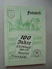 100 Jahre GV Edelweiß .. Neureut Festschrift 1993 Gesangsverein Karlsruhe
