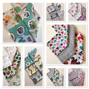 3-Pack-Large-Printed-Muslin-Squares-80x70cm-Baby-Cloth-Reusable-Nappy-Bibs-Wipes