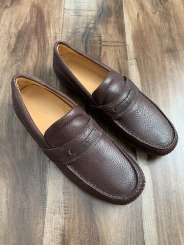 H.S. Trask Loafer Moccasin Brown Shoes Sz 10.5 M L