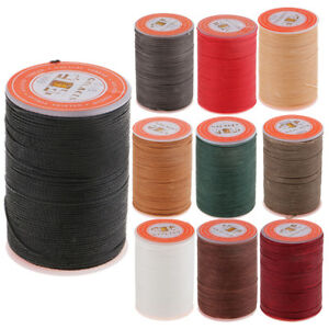 260M Leather Sewing Waxed Thread Wax Cord For Upholstery Shoes