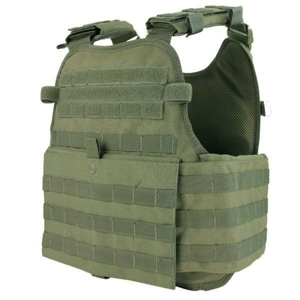 Condor OD Green MOLLE  Operator ESAPI Plate Carrier Body Armor Chest Rig MOPC  fashion