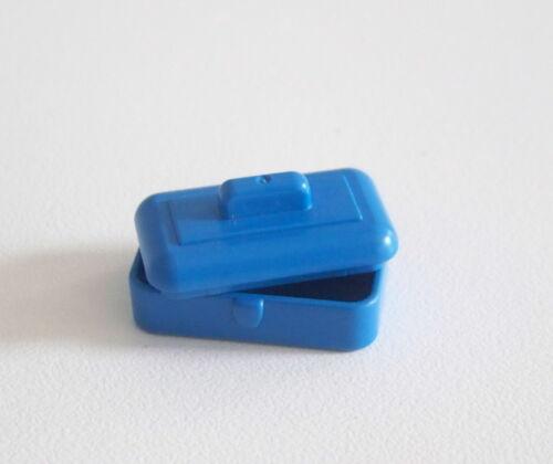 Boite Métallique Bleue Couvercle Cuisine 5322 J129 EPOQUE 1900 PLAYMOBIL