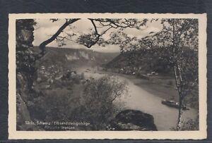 43360) Echt Foto AK Sächsische Schweiz Elbsandsteingebirge Pötzscha Wehlen 1942