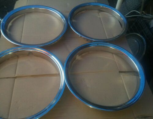 """Used Good Condition Set Of 16/"""" Beauty Rims Rings Chrome"""