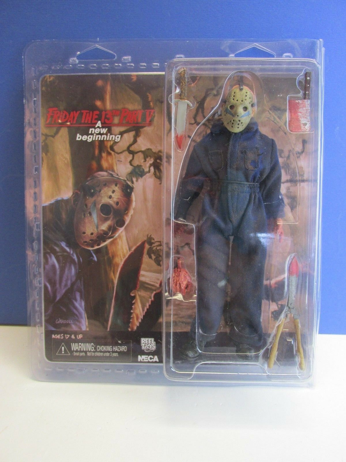 FRIDAY THE 13TH part v new beginning JASON VOORHEES ACTION FIGURE neca 8