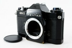 Excellent-Pentax-ESII-ES2-Black-35mm-SLR-Film-Camera-Body-from-Japan