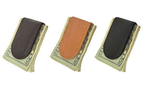 Genuine-Handcrafted-Leather-Men-039-s-Strong-Magnetic-Mini-Money-Clip