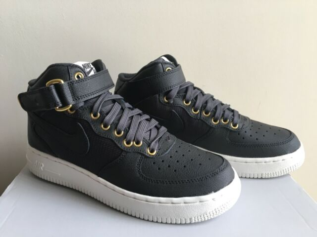 official photos fb3f7 c73f1 Nike Air Force 1 Mid LV8 (GS) 820342 002 size 5.5Y Black Basketball