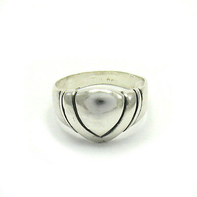 STERLING SILVER RING SOLID 925 SIZE G - Z R000073 EMPRESS