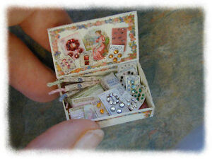 KIT-Vintage-Sewing-Kit-dollhouse-miniature-1-12-scale-designed-by-Jean-Day