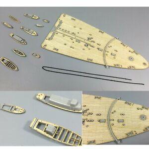 Ponte-di-legno-Deck-Per-Trumpeter-05318-1-350-Italian-Battleship-RN-Roma-Modello