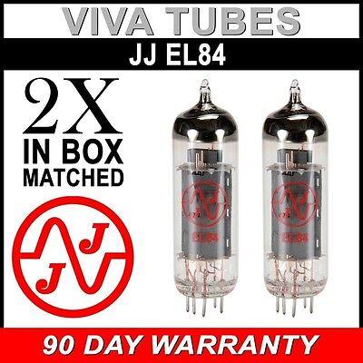 4 JJ EL84 6BQ5 Fully Tested Guaranteed Vacuum Tubes Brand New Matched Quad