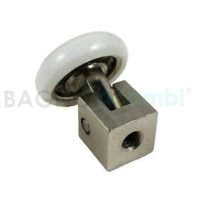 Ricambio ruota cuscinetto rotella a snodo per box doccia Titan 21K1507 |  eBay