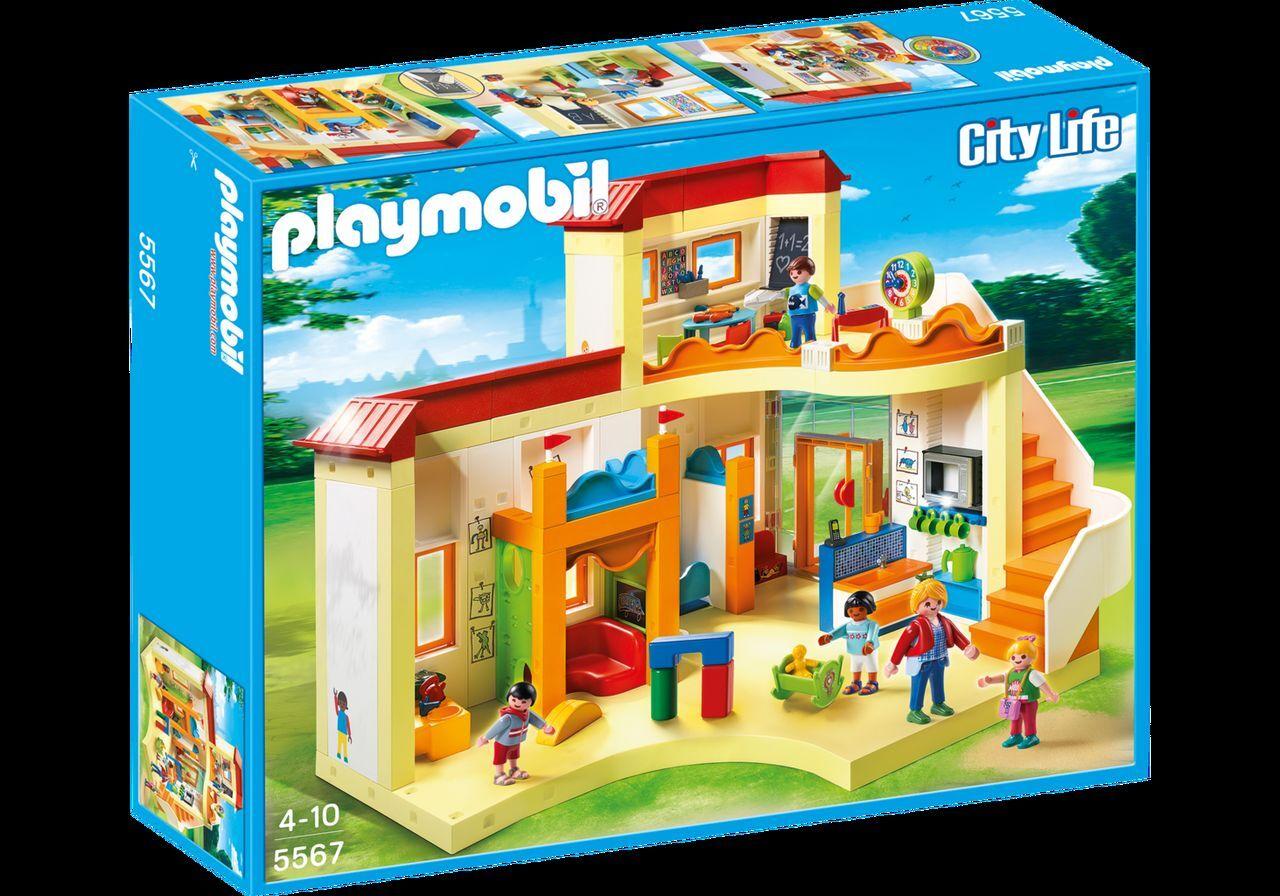 PLAYMOBIL® 5567 KiTa Sonnenschein NEU OVP _Sunshine Preschool Set NEW MISB NRFB