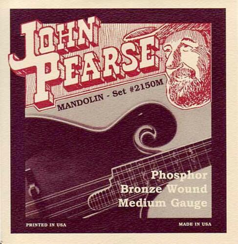 PhosphorBronze W From Hobgoblin John Pearse 2150M MEDIUM GAUGE MANDOLIN STRINGS