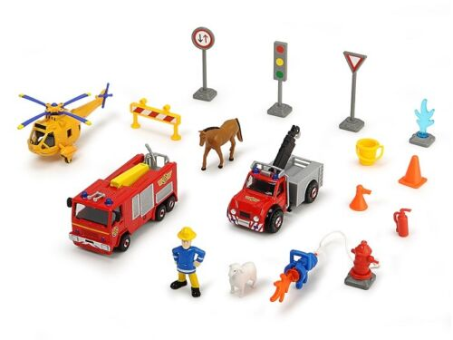 Neu Theme Spielset 20tlg Dickie 203096005 Feuerwehrmann Sam