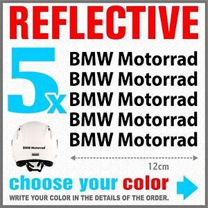 5x-BMW-Motorrad-Black-REFLECTIVE-ADESIVI-PEGATINA-R1200-R1150-F800-F650-F700-GS