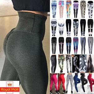 TOP-Women-Push-Up-Sport-Scrunch-Butt-Lift-Elastic-Leggings-Gym-Yoga-Hot-Pants-LT