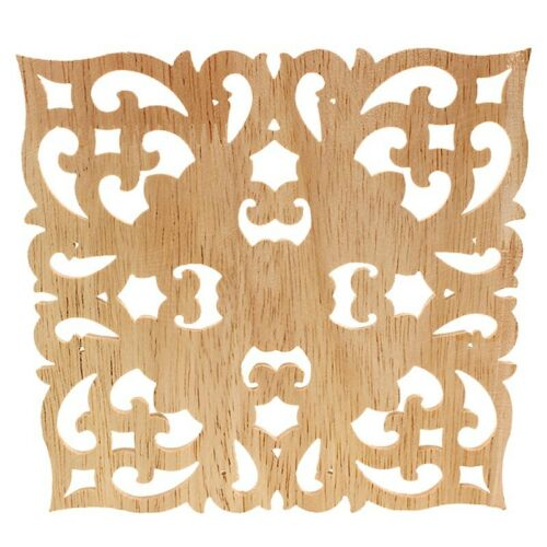 En bois autocollant approvisionnement de style européen appliqué Real Wood Carving Accessoires AO7H1