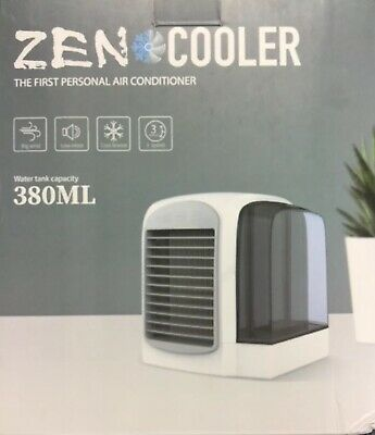 Zen Cooler Personal Usb Air Conditioner Fan Model Wt F10