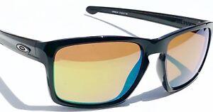 b4aa8a2da51 NEW  Oakley SLIVER Black POLARIZED PRIZM Shallow Water H2O Sunglass ...