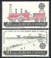 Spain 1988 Europa/Trains/Steam Engine/Locomotive/Transport 2v set (n39978)