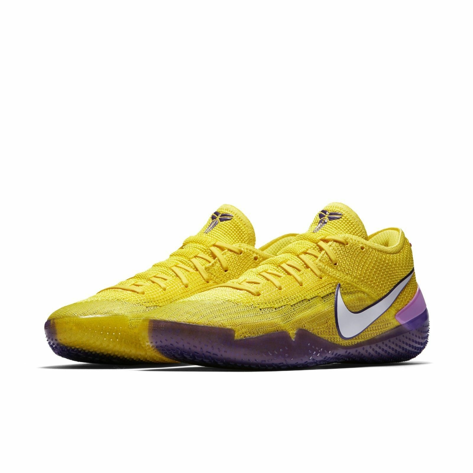 Nike homme Kobe AD NXT 360 Bryant Yelfaible Strike  Violet  Mamba Lakers AQ1087-700