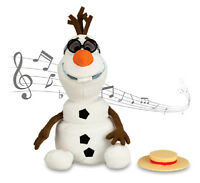 Disney Frozen Olaf The Snowman Singing Talking Dancing Olaf 12 Plush