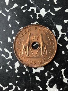 1957-Rhodesien-amp-Nyasaland-1-2-Penny-viele-verfuegbar-High-Grade-1-Muenzen-nur