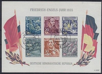 Mit Falsch Stempel Jena 1956 * Dynamisch Ddr Block 13 Geprüft Schönherr Bpp In Vielen Stilen