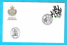 BUSTA SERIE FDC SAN MARINO JUVENTUS VITTORIA CAMPIONATO CALCIO 2015 - 2016