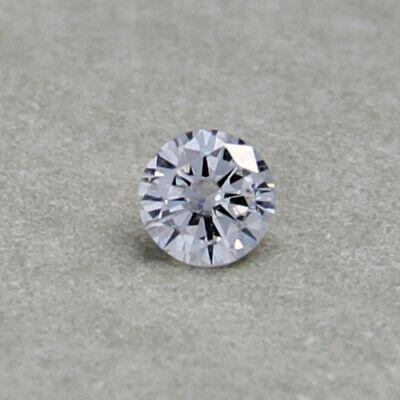 3,2mm D-F Natürlicher Diamant 0,125ct 3,1mm IF-VVS Brillant 3,1 3,2 0,12ct