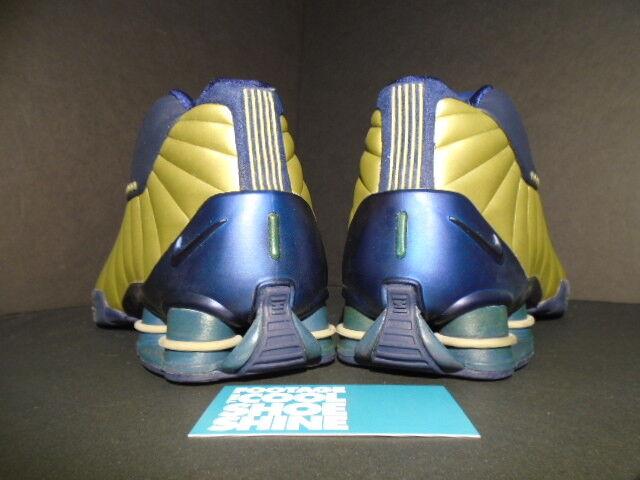 2000 og nike shox bb4 vince carter neue olympischen blau gold 330009-471 neue carter 10,5 050573