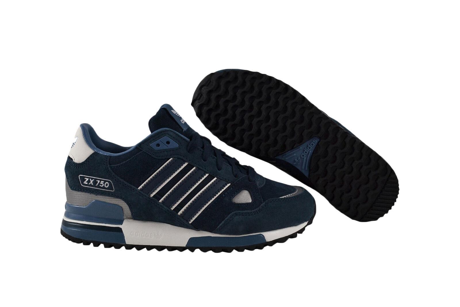 Adidas Originals ZX 750 Dark petrol Dark petrol blanco Vapour zapatilla de deporte zapatos