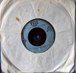 Fox-S-S-S-Single-Bed-Original-7-034-Vinyl-Excellen