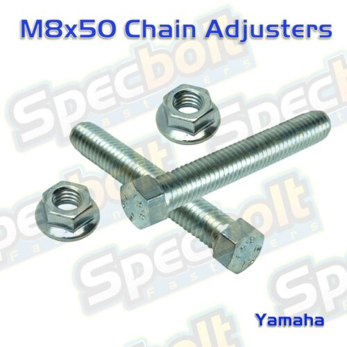 M8 Chain Adjuster Bolts YZ IT 125 175 200 250 360 400 425 465 490 MX DT 100 80