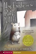 Mrs. Frisby and the Rats of NIMH, O'Brien, Robert C.
