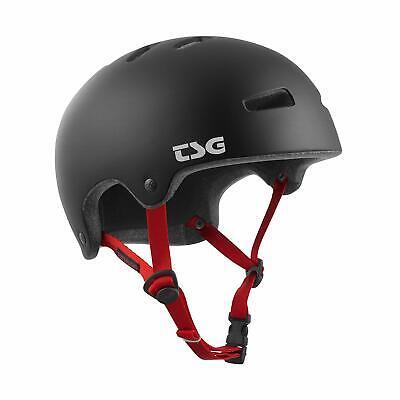 TSG Superlight Skate /& Bike Helmet  w//Snug Fit  system S//M Satin Black Cycling,