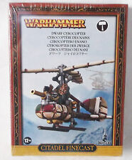 Warhammer Age of Sigmar Fantasy Dwarf Gyrobomber Gyrocopter NIB