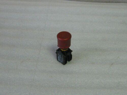 Klockner Moeller Red E-Stop Button Used EK01 Warranty Aux.Contact