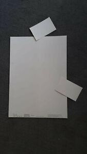 Details Zu 100 Visitenkarten 10 Karten Pro Blatt Din A 4 Perforiert Und Unbedruckt