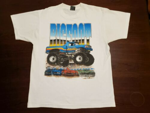 Vintage 1992 Screen Works Bigfoot Monster Truck Te