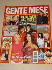 GENTE MESE=2002//2=SABRINA FERILLI=MARIA DE FILIPPI=FATTI CRONACA FOTO DEL MESE