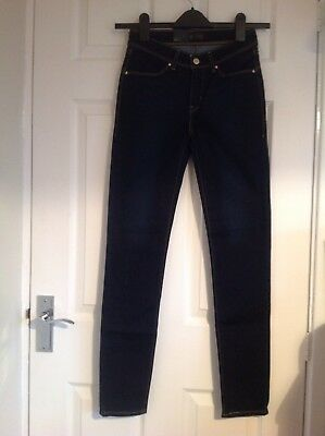 Autentico Levis Demi Curve Skinny Jeans-oltre Il 50% Rrp!-mostra Il Titolo Originale