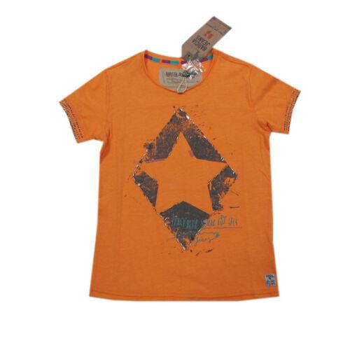 140//146 176 128//134 Garcia MAGLIETTA T-shirt A Maniche Corte Arancione RAGAZZA TG 152//158