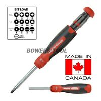 MegaPro 13-in-1 Ratcheting Screwdriver Tools and Accessories