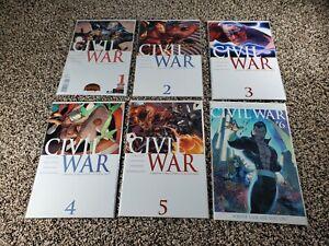 Civil War #1 - 6 (#1 and #6 are variants) Marvel Comics 2006