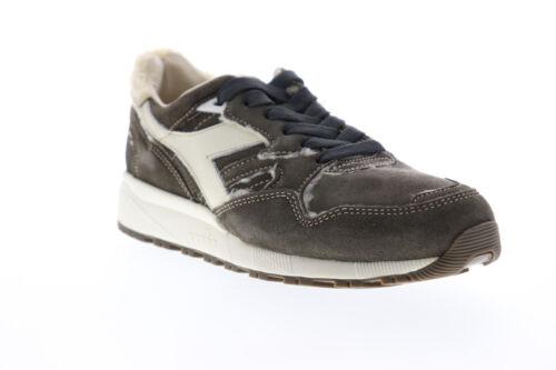 Diadora N9002 Aviator Italy 175085-80003 Mens Brown Low Top Sneakers Shoes