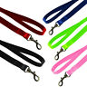Strong Nylon Dog Pet Lead Leash with Clip for Collar Harness Various Colours